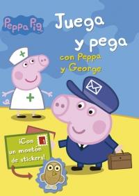 Juega y pega con peppa y george peppa pig megustaleer for Espectaculo peppa pig uruguay