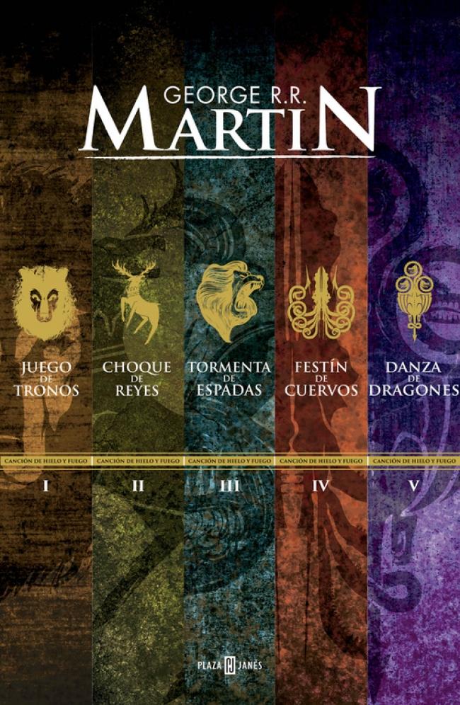 Paquete Digital Canción de Hielo y Fuego (5 libros) (Canción de hielo y  fuego) - George R. R. Martin - Primer capítulo - megustaleer - PLAZA    JANES - 2647b10240a
