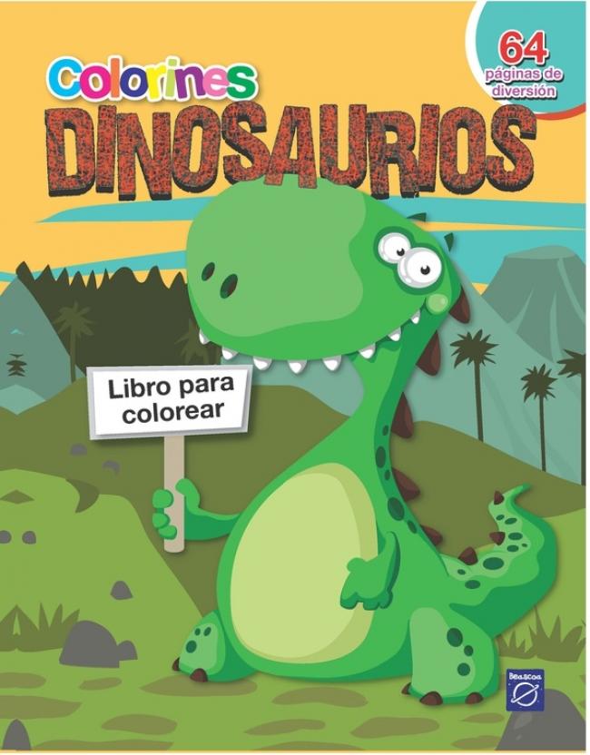 Colorines dinosaurios - Megustaleer Colombia
