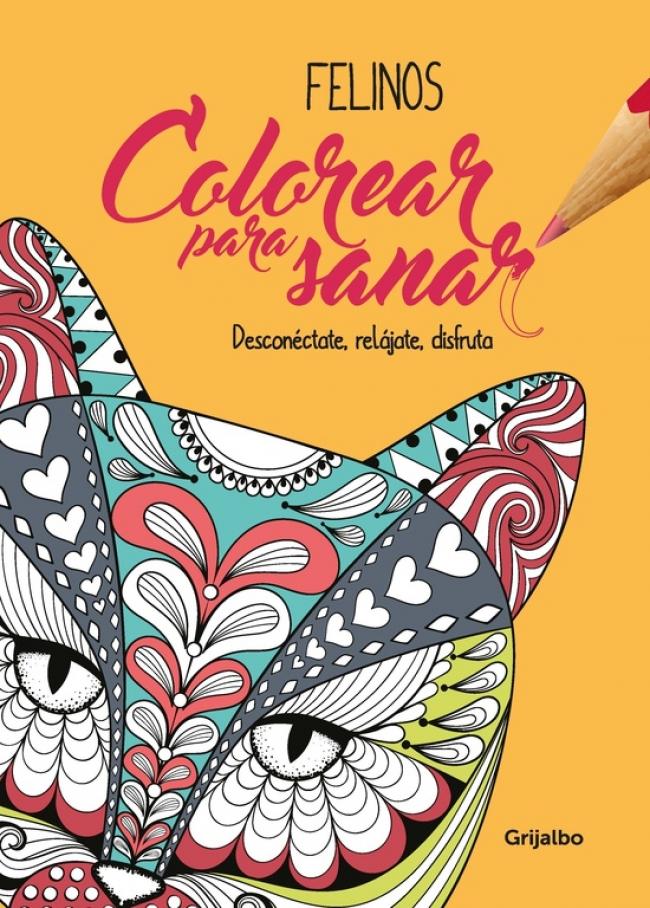 Colorear para sanar -Felinos - Megustaleer Colombia